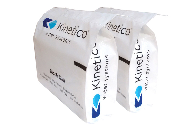Kinetico Salt Blocks Picked Up From Quality Water Systems