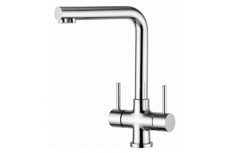 Mariella Chrome 3-Way (Tri-flow) Kitchen Tap